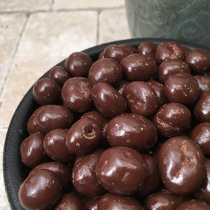 Chocolate Coated Raisins Dairy Free (Bulk, by the lb.)