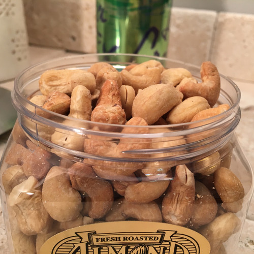 1/2 lb. Jar Roasted, Salted Cashews