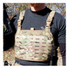 Reversible Chest Rig - MOLLE panel - MultiCam