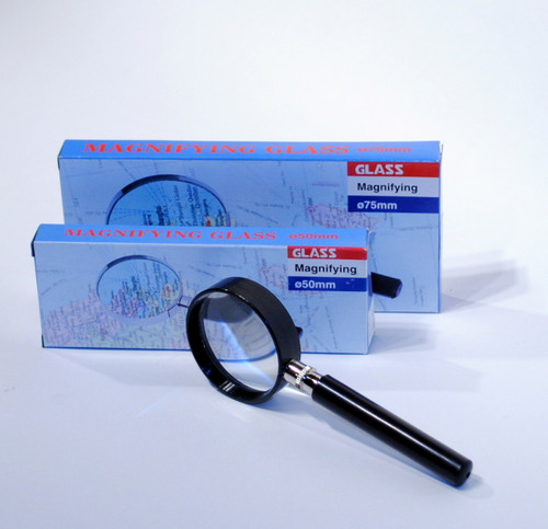 Handheld Magnifying Glass Set of three 5x power