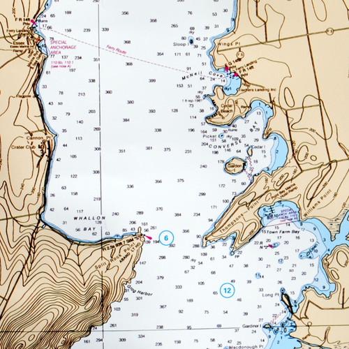 Waterproof Chart South Lake Champlain
