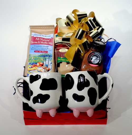 Vermont Winter Afternoon Gift Basket