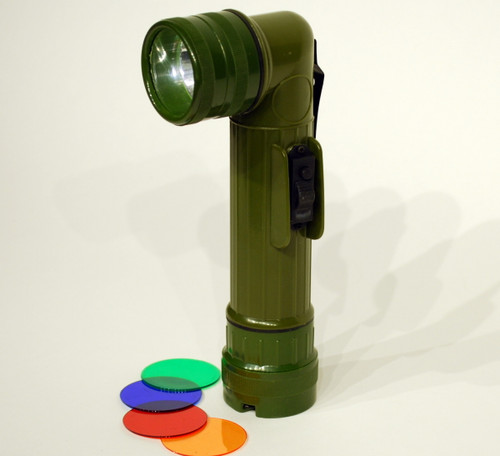 Standing Waterproof Morse Code Flashlight -2D
