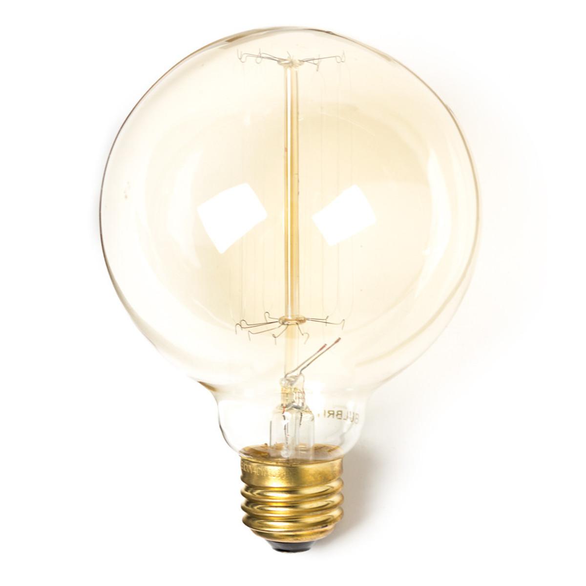 40 Watt Round Edison Bulb