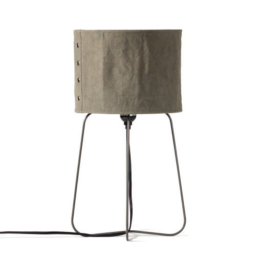 Curved Iron Lamp