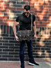 """15"""" Large Belmar BuckHorn Laptop Briefcase in Distressed Tan Oil Tanned Leather"""