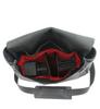 """14"""" Medium Lewis & Clark Camera Bag in Black Napa Excel Leather"""