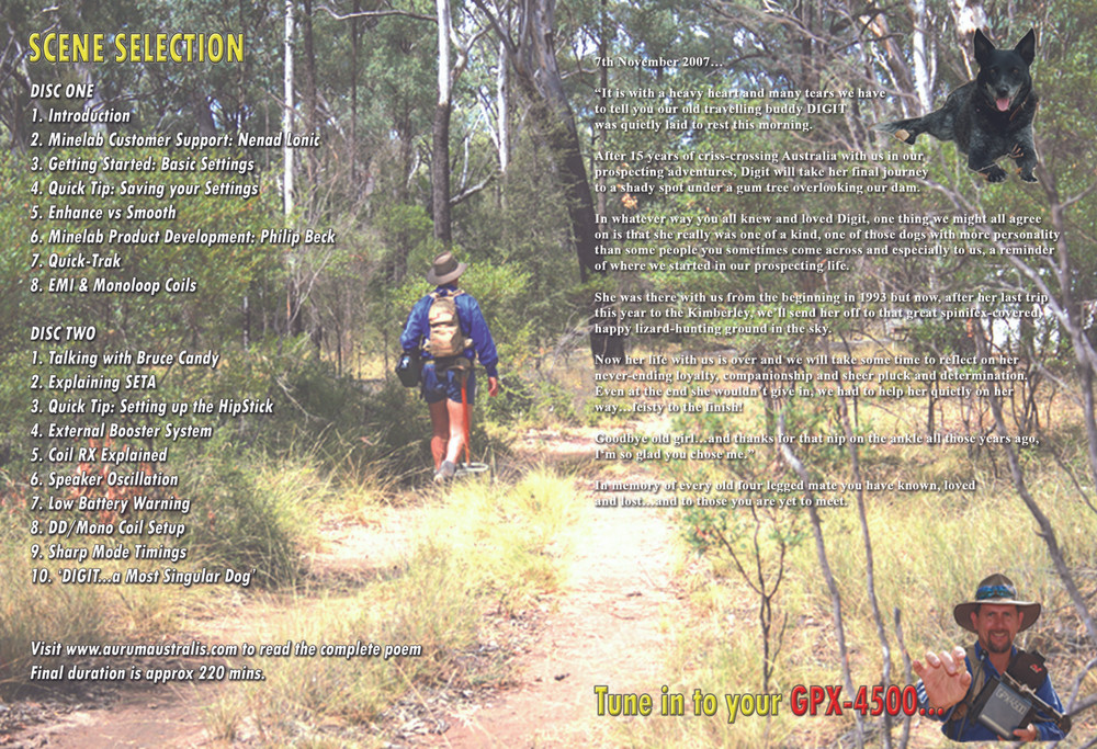 The Seta Project Gold Prospecting Jonathan Porter Chapters of the DVD