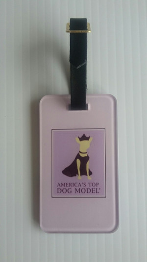 America's Top Dog Model Luggage Tag