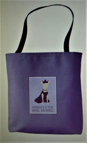 America's Top Dog Model Ultra Violet Signature Tote