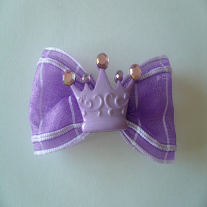 Royal Princess Lavender Crown & Bow