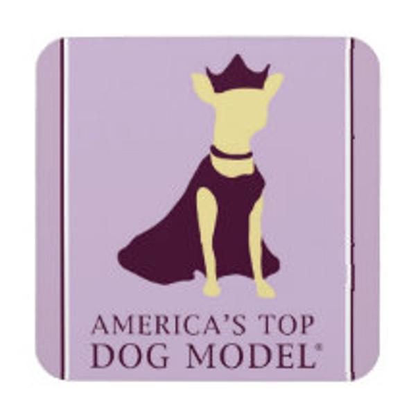 America's Top Dog Model Signature Coaster