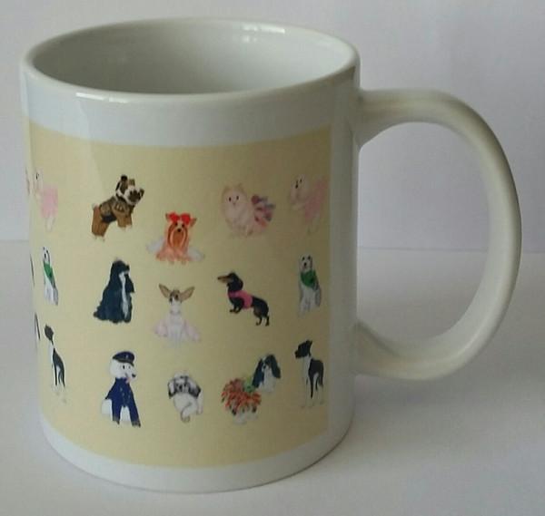 America's Top Dog Model Twelfth Anniversary Mug