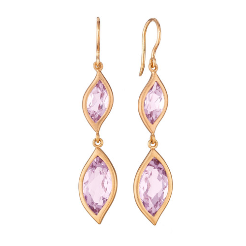 pomellato product en nudo amethyst us earrings rose pp karat classic france de gold ou