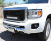 "15 16 17 GMC Canyon Custom Black Mesh Aluminum Grille & 21"" Cree Led LightBar with Wiring Harness & Black Bolts"
