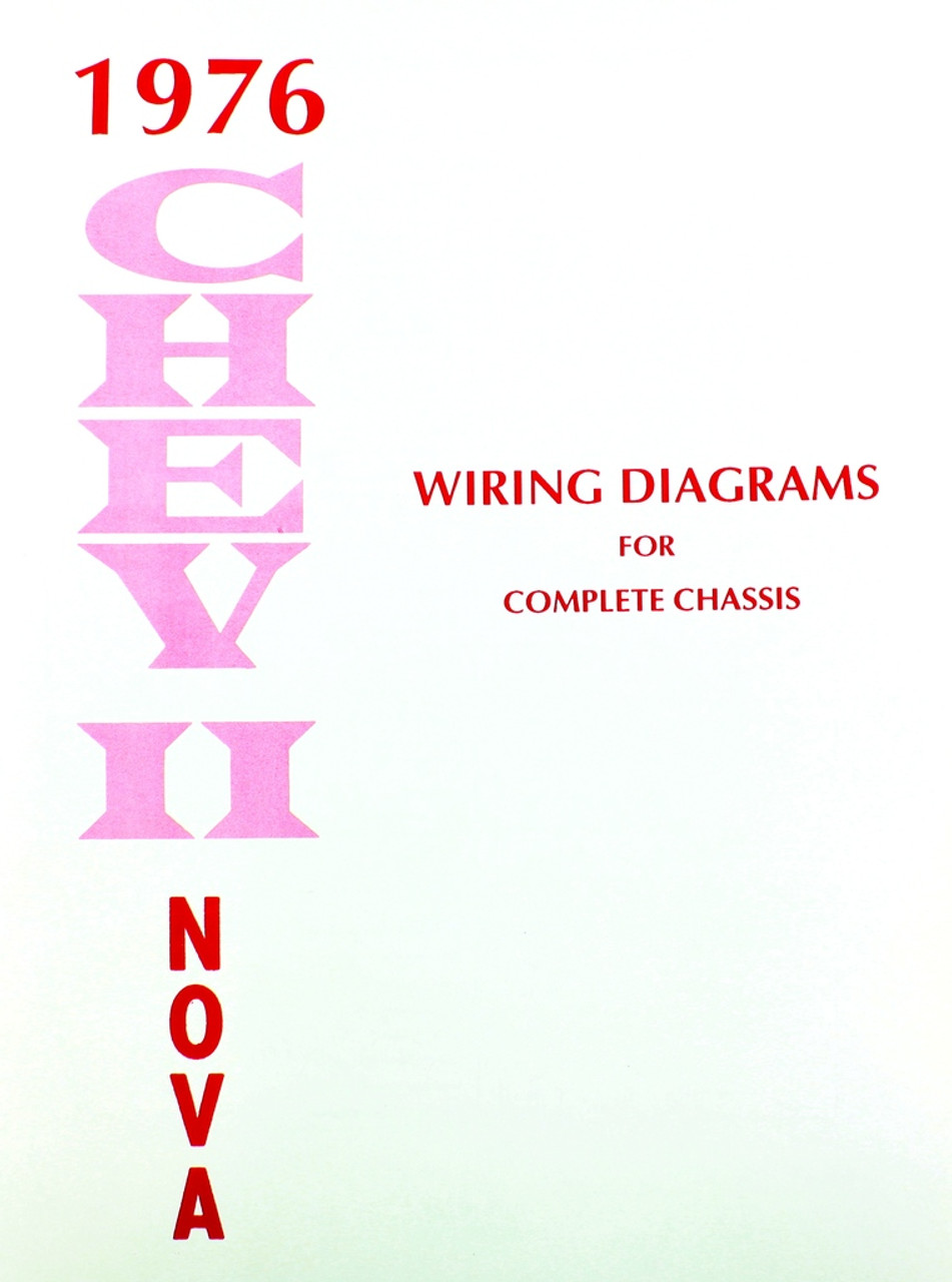 76 chevy chevrolet nova electrical wiring diagram manual 1976 i 5 rh i5chevy com Chevy Tail Light Wiring Diagram Chevy Tail Light Wiring Diagram
