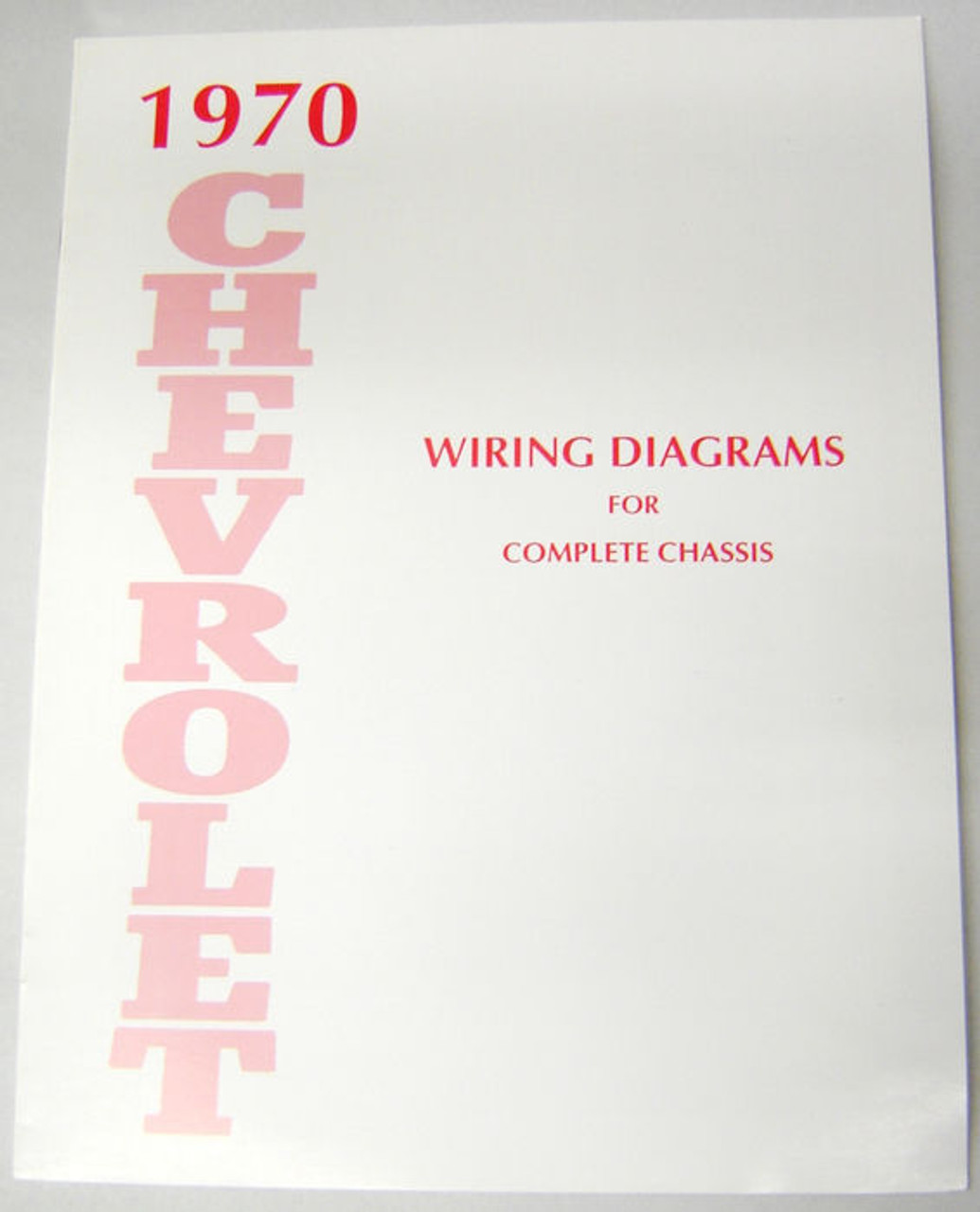 70 1970 Chevy Impala Electrical Wiring Diagram Manual - I-5 Classic ...