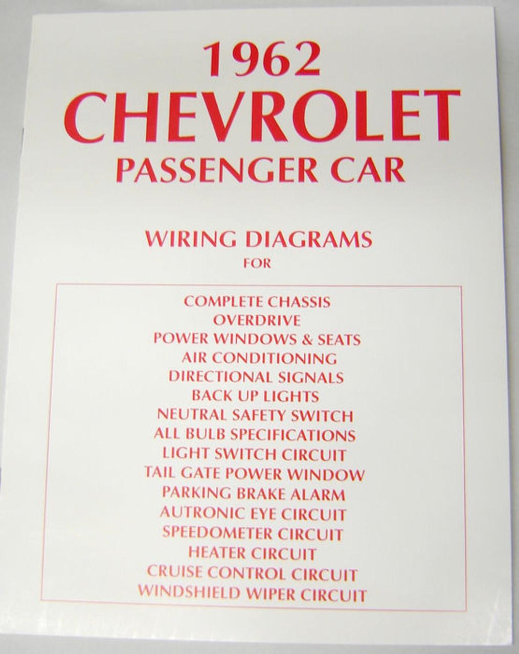 62 chevy impala electrical wiring diagram manual 1962 i 5 classic rh i5chevy com 1962 chevy wiring diagram 1962 chevy truck wiring diagram