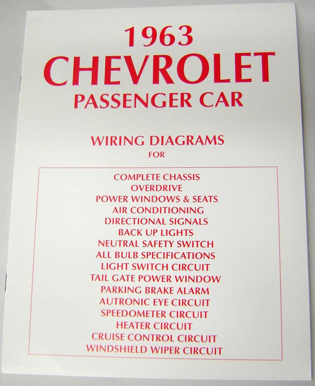 63 chevy impala electrical wiring diagram manual 1963 i 5 classic rh i5chevy com 1963 chevrolet impala wiring diagram 1963 impala ss wiring diagram