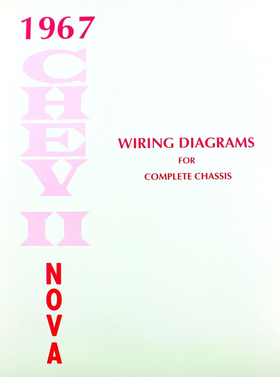 67 1967 CHEVY NOVA ELECTRICAL WIRING DIAGRAM MANUAL - I-5 Classic ...