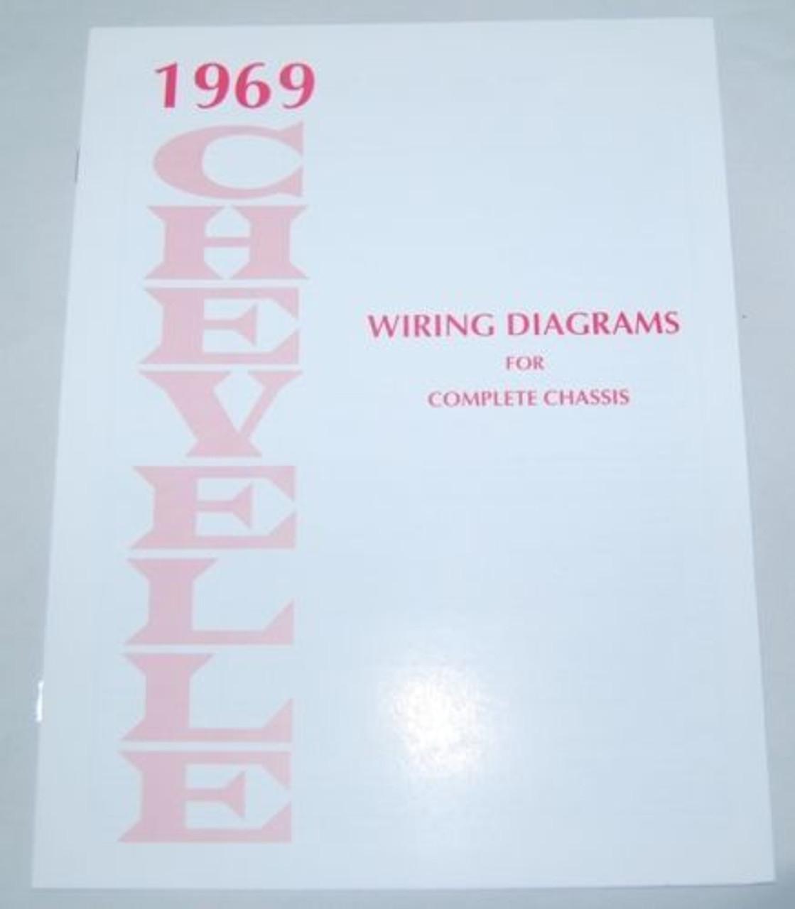69 1969 CHEVELLE EL CAMINO ELECTRICAL WIRING DIAGRAM ...