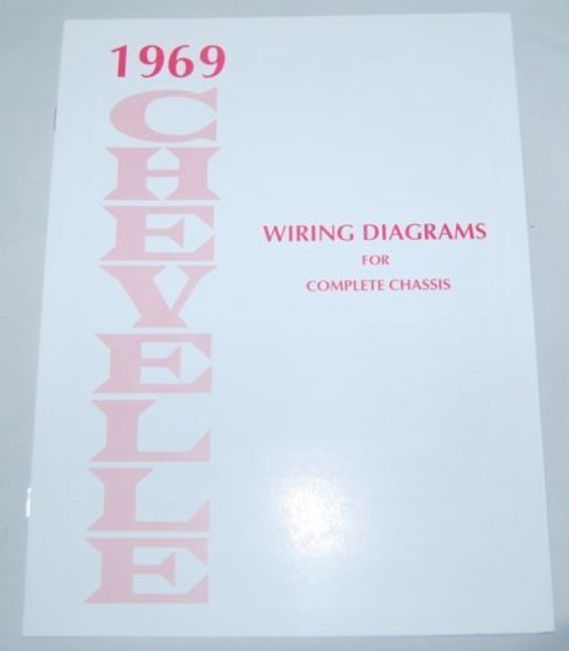 69 1969 Chevelle El Camino Electrical Wiring Diagram Manual