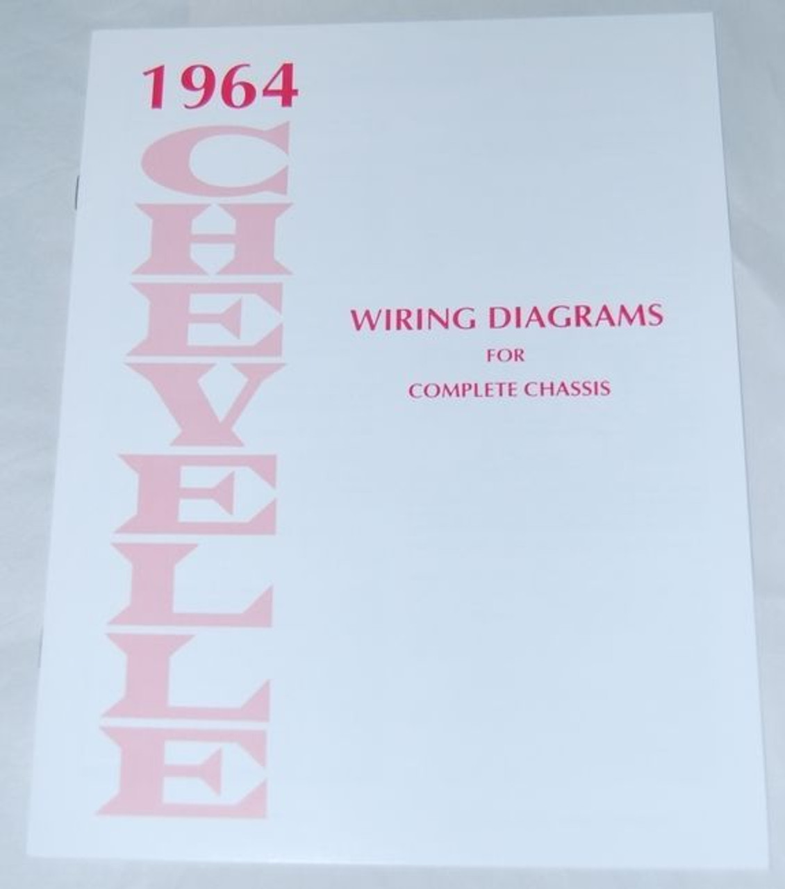 64 1964 Chevelle El Camino Electrical Wiring Diagram ...