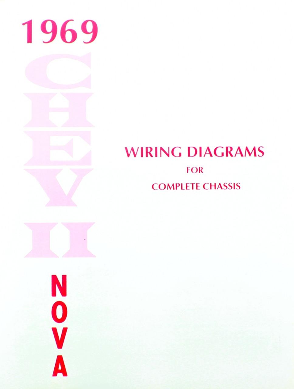 69 1969 CHEVY NOVA ELECTRICAL WIRING DIAGRAM MANUAL - I-5 Classic ...