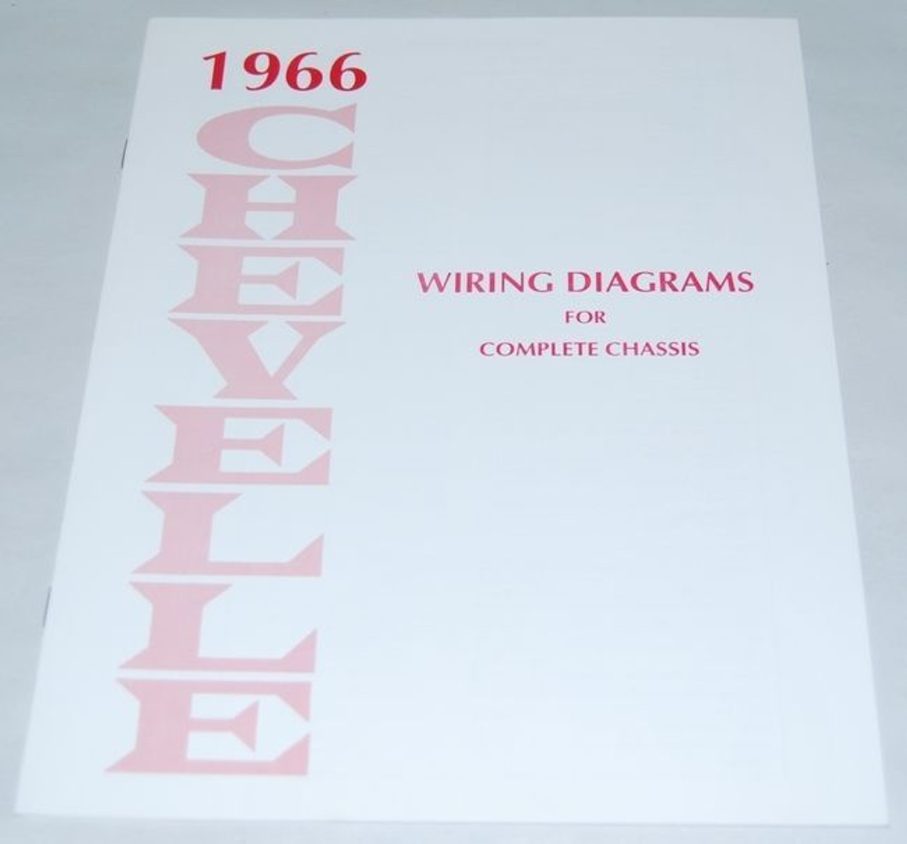 66 1966 CHEVELLE EL CAMINO ELECTRICAL WIRING DIAGRAM ...