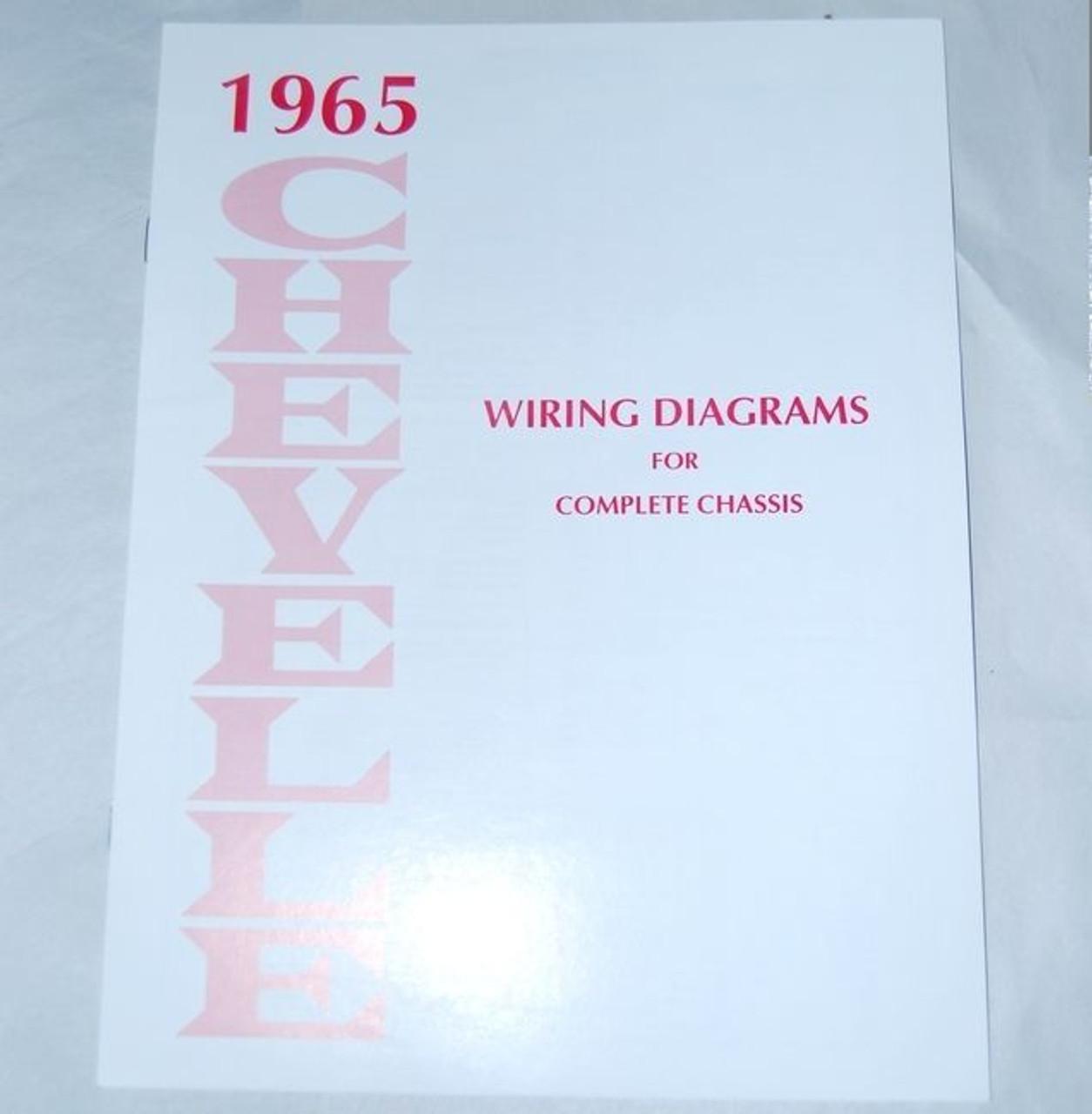 65 chevelle el camino electrical wiring diagram manual 1965 i 5 rh i5chevy com 1976 El Camino Wiring-Diagram 1976 El Camino Wiring-Diagram