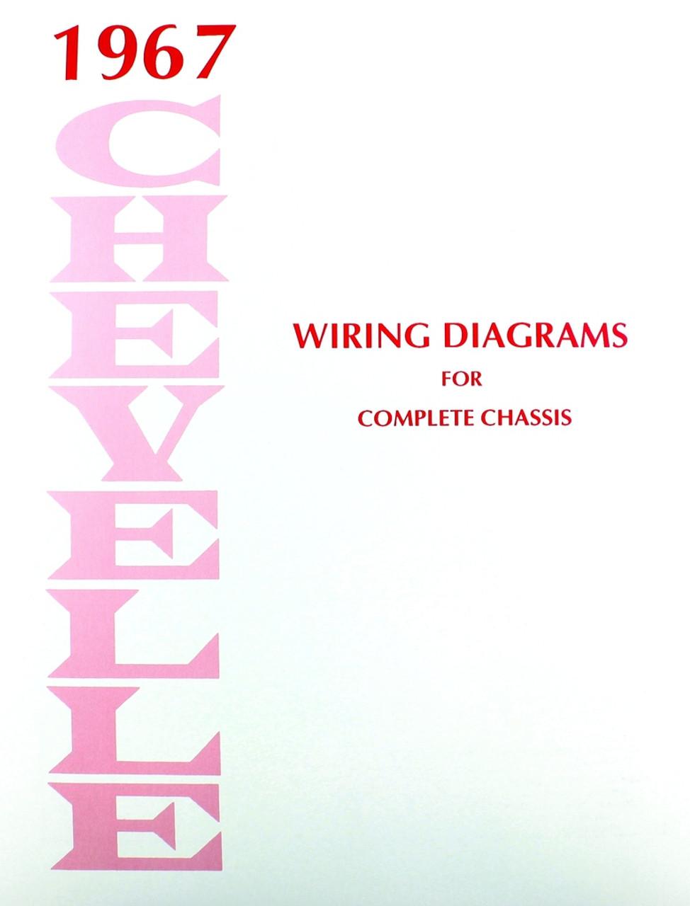 El Camino Wiring Schematic Diagrams 1968 Diagram 1967 Circuit Symbols U2022 Colors
