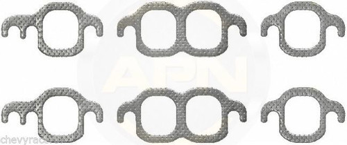 55-72 CHEVROLET SMALL BLOCK EXHAUST MANIFOLD GASKETS