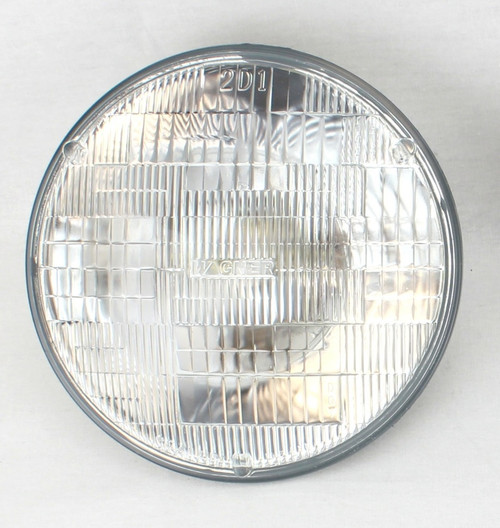"H6024 7"" HALOGEN GLASS SEALED BEAM HEADLIGHT BULB"