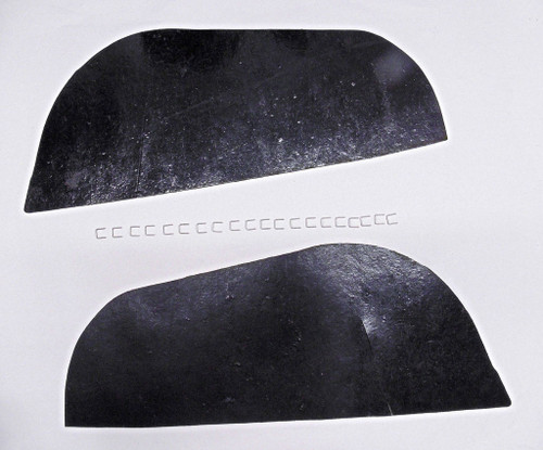 70 71 72 73 74 75 76 77 78 79 80 81 CAMARO INNER FENDER A-ARM DUST SHIELDS