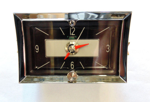 57 1957 CHEVY DASH QUARTZ CLOCK NEW
