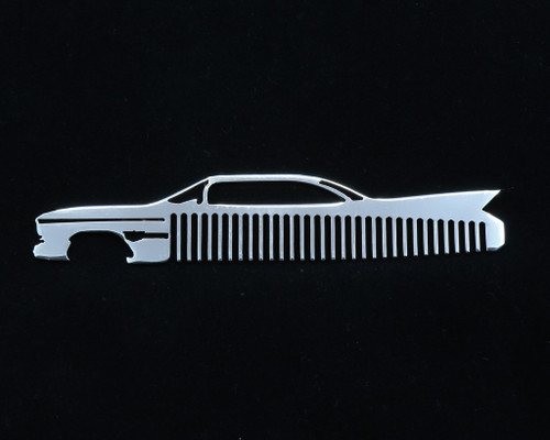 60 Cadillac Coupe Deville Polished Stainless Steel Trim Beard Hair Mustache Comb