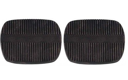 58 - 65 Chevy Impala & 62 - 67 Nova Stick Brake & Clutch Pedal Pads Pair New
