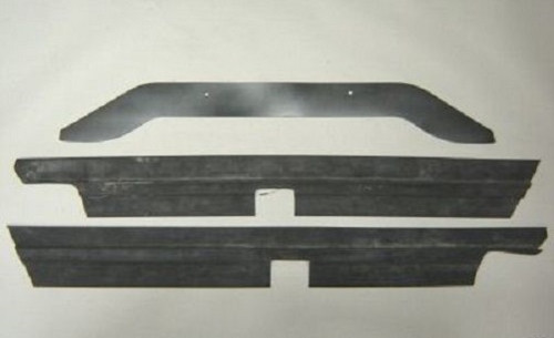 1964 64 1965 65 Chevelle Rear Bumper To Body Rubber Seal Kit New