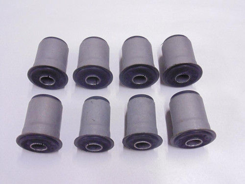 59 60 61 62 63 64 CHEVY IMPALA REAR END TRAILING CONTROL ARM RUBBER BUSHING 8pc