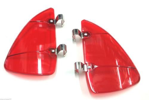 58 59 60 61 62 63 64 65 66 67 68 Chevy Impala Vent Window Red Breezies