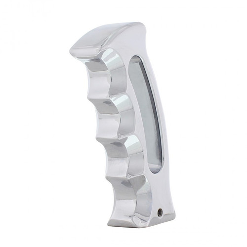Chrome Aluminum Slot COLT Pistol Grip Shifter Handle Knob Column & Floor Shift Mopar