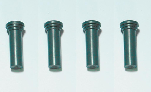 55 56 57 58 59 60 CHEVY SET OF 4 DOOR LOCK KNOBS GREEN