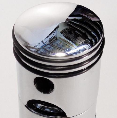 Chrome Aluminum Piston Shifter Handle Knob Column & Floor Shift Ford Mopar