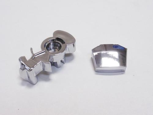 Chrome 13 Speed Shifter Splitter Button & Range Selector Cover Eaton Fuller