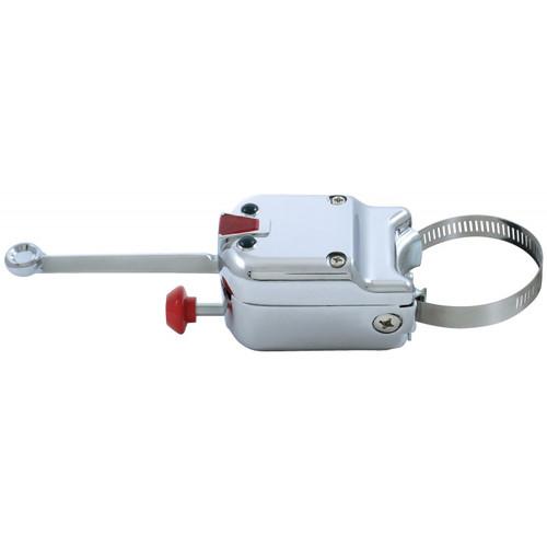 Heavy Duty Chrome Steering Column Mounted Turn Signal Switch 4-Way Hazard Light