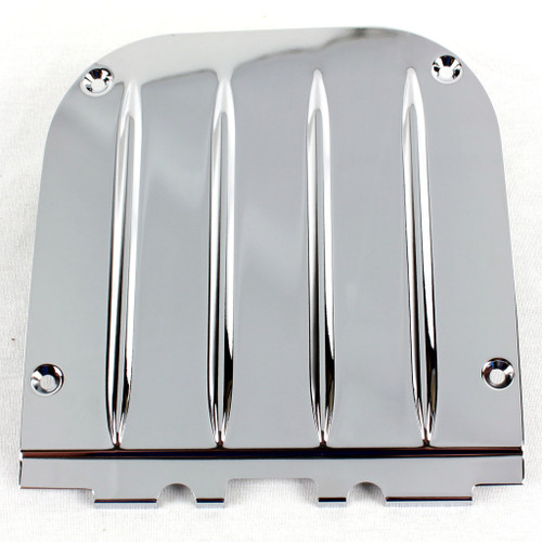 55 56 57 Chevy Nomad Station Wagon Tail Gate Chrome Latch Cover Plate Chevrolet