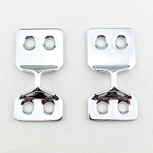 55 56 57 Chevy Nomad & Station Wagon Chrome Tail Gate Catch Latch Strikers