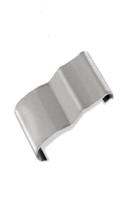 55 56 57 Chevy Lower Windshield Stainless Molding Center Clip