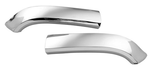 57 1957 CHEVY CHROME HOOD BAR FENDER EXTENSIONS