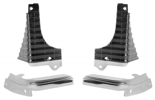 68 1968 CHEVELLE EL CAMINO SS GRILL EXTENSIONS